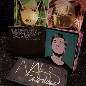 Nars Andy Warhol Debbie Harry makeup palette!